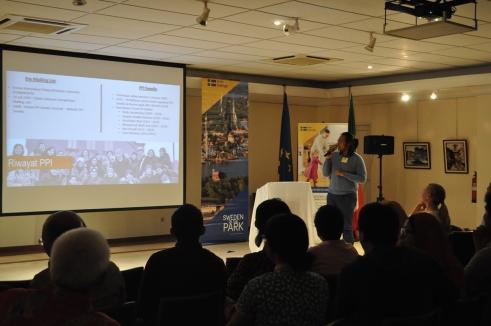 Presentation by Benni Yusriza, Chairman of PPI Swedia